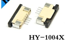 1.0mm 4P SMD FPC connector