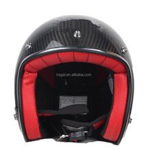 Wholesale ECE Open Face Half Helmet Carbon Fiber Helmet