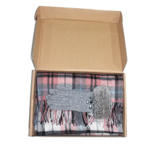 New arrival Cashmere gloves and scarves set