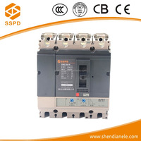 Best brand types of electrical switches 250A 4P moulded case circuit breaker 23 years professional history china suppier