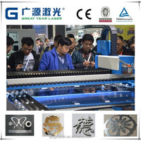 carbon steel tube fiber laser cutting machine with high strength welding body