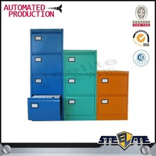 colourful design office tall metal drawer cabinets with free sample