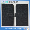 With firm sticky universal cover for 4-6 inch smart phone leather cover