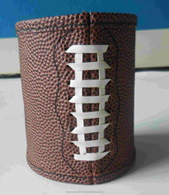 customed promotional gift insulated, thick foam neoprene can cooler, artifical woven single can beer wine cooler/ holder