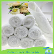 100% cotton printed adult white disposable bathroom towel