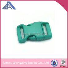 Plastic double adjuster side release insert buckle