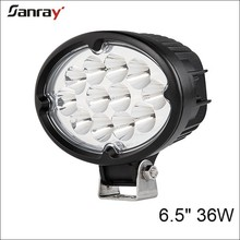 Newest Hotsale 6.5 inch 36w LED spotlights for truck tractor motorcycle