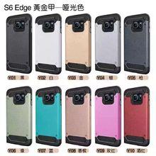 2015 Fashion For Samsung Galaxy S6 Edge aluminum case Luxury For Samsung Galaxy S6 Edge case