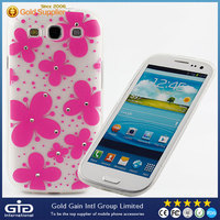 3D Dimension Butterfly TPU Case For Samsung S3