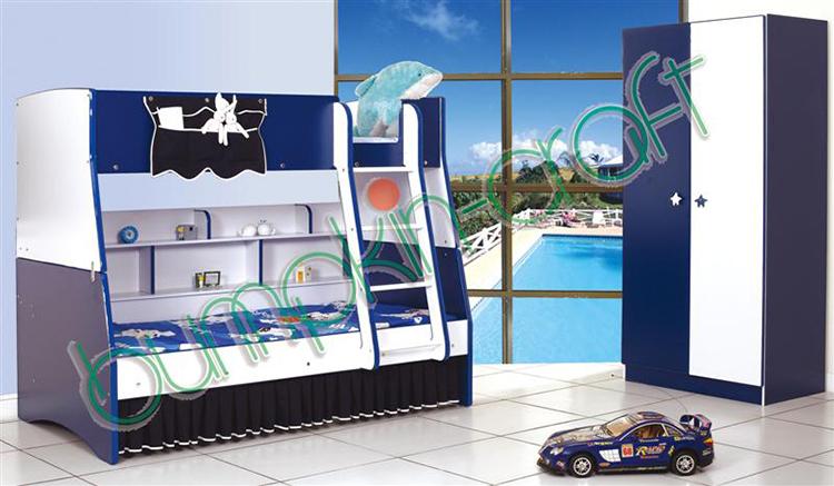 인기 디자인 키즈 침실 가구 아동 나무 라미네이트 인도 침실 ...