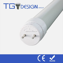 2015 Hot sale 120lm/w TUV CE RoHS Qualified T8 Tube Light, Rotatable end