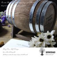 HONGDAO custom beautiful wooden wine barrel