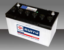 12V80AH DRY CHARGED CAR BATTERIES