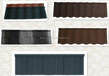 roofing slate tile/synthetic resin/stone grain/interlocking design/zinc metal roof tile in builiding material
