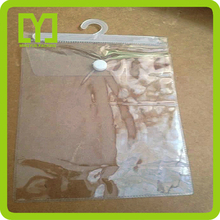 2015 new customized popular good quality free sample pvc bag with button
