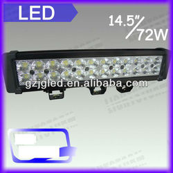 72w auto LED off road light bar for ATV,moto,SUV, 4X4 off road, truck