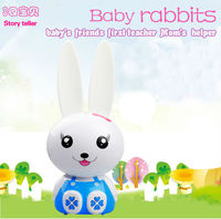 2014 new plastic bunny educational toy for child C-18
