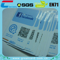 Programmable rewritable rfid business card for NFC-enable mobile