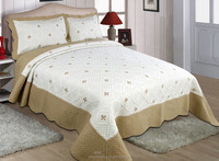 wholesale bed sheets manufacturers in china supply indian cotton hand embroidery bed sheets