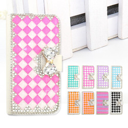 Bling rhinestone diamond case for Huawei Ascend G8 , crystal phone case for Huawei G8