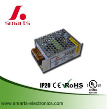 Mini size 24V 15W enclosure power supply with aluminum mesh