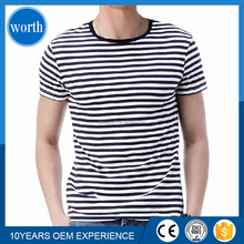 popular yarn dyed o-neck online t shirt