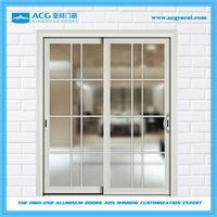 Easy cleaning double insulated interior aluminium glass sliding doors