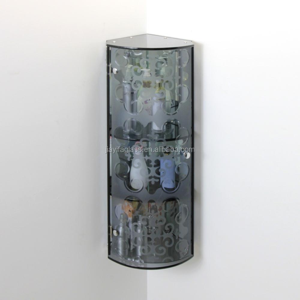 glass vanity glass bedroom vanity bathroom corner vanity coner glass