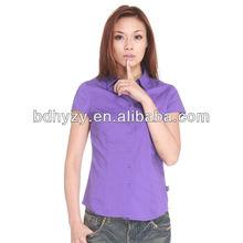 violeta camisas de moda para las niñas