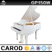 USA popular product acoustic wooden kids piano with white piano bench