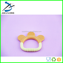 Eco-friendly silicone baby teether