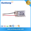 3.7 V 70 mAh Rechargeable Lithium Polymer battery for helicopter toys