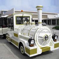 Carnival ride electric train