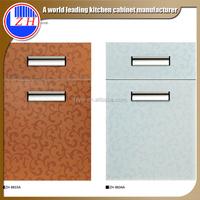 2015 mdf laminate new pvc cabinet door designs mini kitchen cabinet apartment (zhuv)