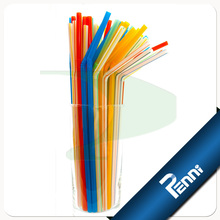 Food Grade PP Unwrapped Cocktail Straw