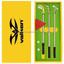 golf ball pen & pencil set, high quality custom golf bristol pen sets for men