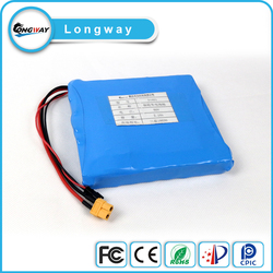Customed 14.8v 3.4ah 16S1P for e-bike/e-motorcycle/Electric Vehicle Lithium Ion Rechargeable Battery pack