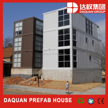 China easy to assemble stackable container house / office / kiosk for sale