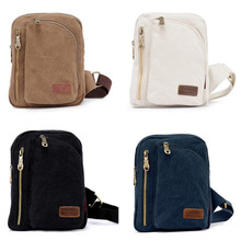 Fashion Men Canvas Messenger Crossbody Shoulder Bag Handbag Tote Chest Satchel