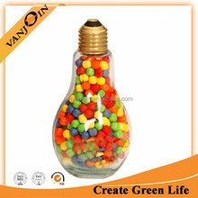 150ml Bulb Shaped Glass Food Bottle With Tin Cap