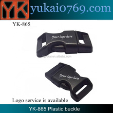 Yukai custom side release buckle/quick release plastic buckle/bag accessories