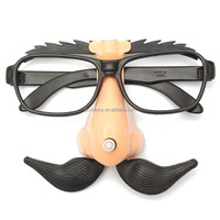 2015 New Arrival Fashion Design Funny Gift Sunglasses Stag Night Hen Hallowmas Party Nose Mustache Up-and-Down Halloween Decor