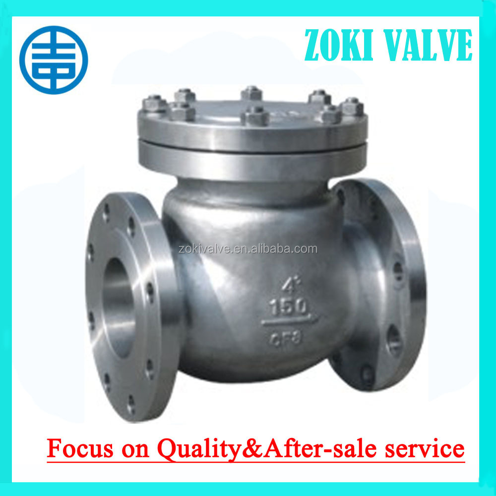 Stainless steel screwed swing check valve buy