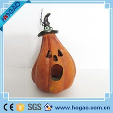 Resin Halloween Happy Pumpkin
