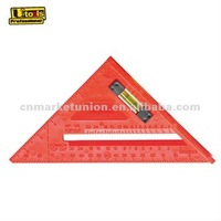 Plastic Rafter Triangle Set Square with Level