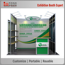 Customerized modular aluminum extrusion trade show booth