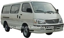 6-12 seats,flat roof,flat nose mini bus (GDQ6480A1) hiace type