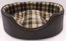Luxury dog bed With Dual Using Cushion Washable Pet Dog House