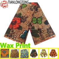 batik style african java wax print fabric 6 yards hollandais fashion designs