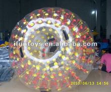 Colored dot zorb roller ball/zorbing ball